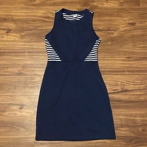 Darling Nautical Old Navy Stretch Dress